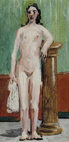 Pablo Picasso. Standing Nude, 1920