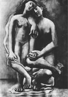 Pablo Picasso. Two naked feminine, 1920