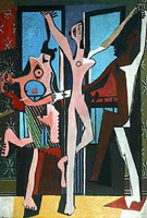 Pablo Picasso. The Three Dancers, 1925