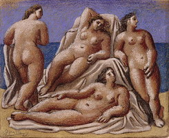 Group feminine nudes