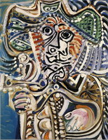 Pablo Picasso. Musketeer (Male), 1972