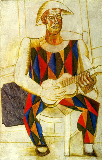 Pablo Picasso - Themes - Harlequin