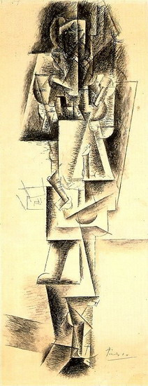 Pablo Picasso. Standing Woman, 1912