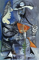 Pablo Picasso. The matador and woman Е l`oiseau, 1970