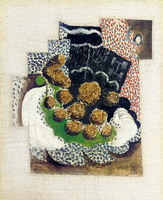 Pablo Picasso. Bunch of grapes, 1914