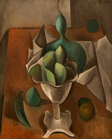 Pablo Picasso. Fruit Tray, 1908