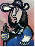 Pablo Picasso. Musketeer, 1972