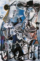 Pablo Picasso. The couple, 1967