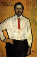 Portrait of Pere Manach, 1901