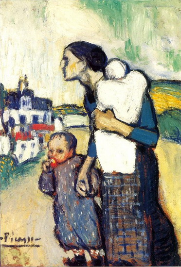 Pablo Picasso. Mother and Child, 1905