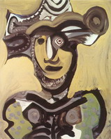 Pablo Picasso. Bust Musketeer, 1972