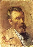 Pablo Picasso. Portrait of father l`artiste, 1895