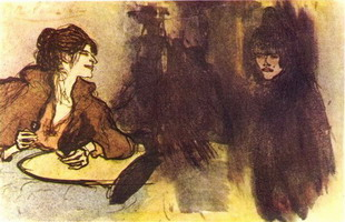 Pablo Picasso. Two women, 1901