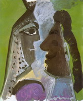 Pablo Picasso. Heads Women, 1967