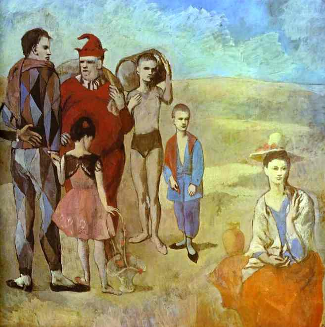 Pablo Picasso. The Family of Saltimbanques, 1905
