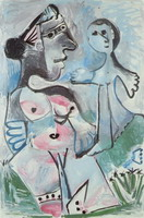 Pablo Picasso. Venus and Love, 1967