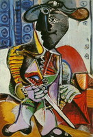 Pablo Picasso. The matador, 1970