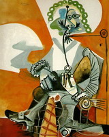 Pablo Picasso. Musketeer pipe