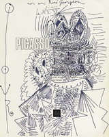 Pablo Picasso. The king, 1972