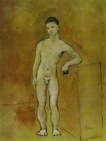 Pablo Picasso. Young Nude, 1906