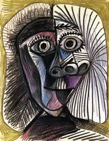 Head of a Woman, 1972