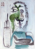 Pablo Picasso. The painter