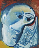 Pablo Picasso. Reading, 1971