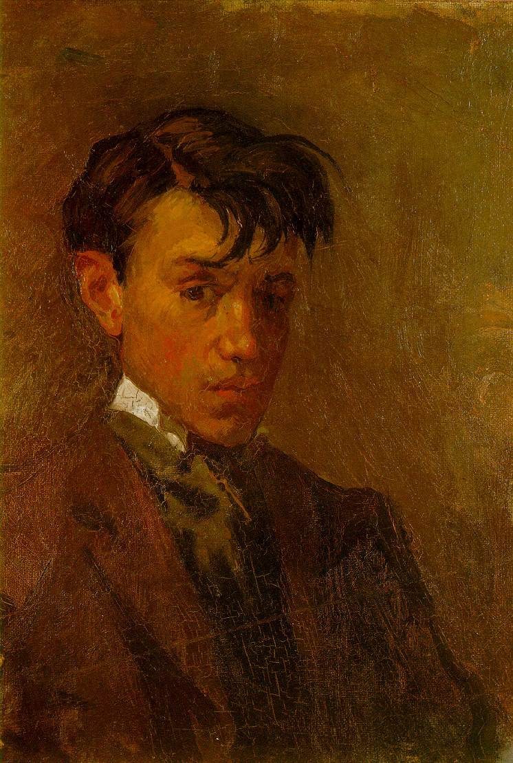 Pablo Picasso. Self-Portrait, 1896