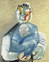 Pablo Picasso. Man carrying a child