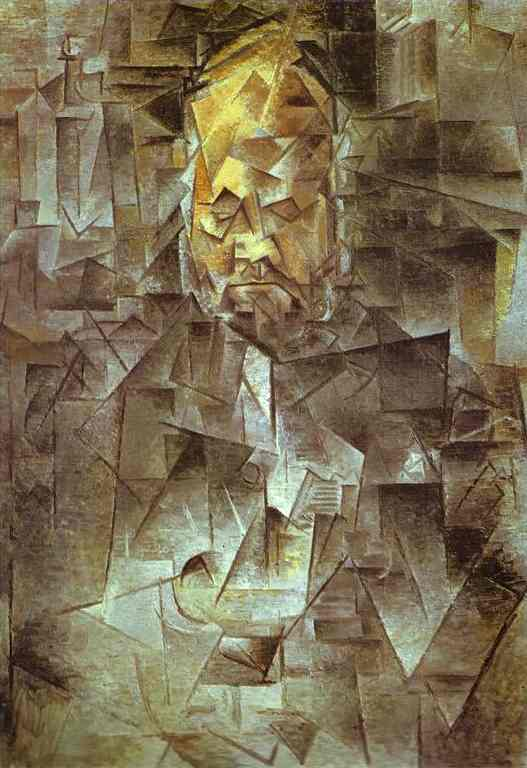 Pablo Picasso. Portrait of Ambroise Vollard, 1910