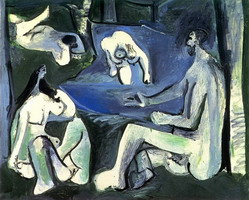 Pablo Picasso. The Luncheon on the grass (Manet) 7