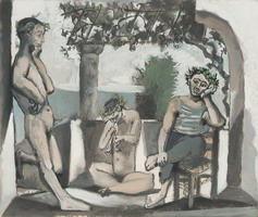 Pablo Picasso. Bacchanal