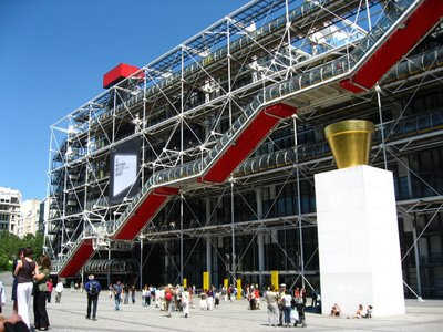 Paris, Musee National Art Moderne, Centre Georges Pompidou