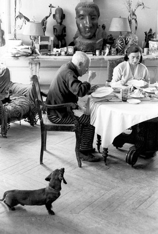 Lump, Picasso and Jacqueline