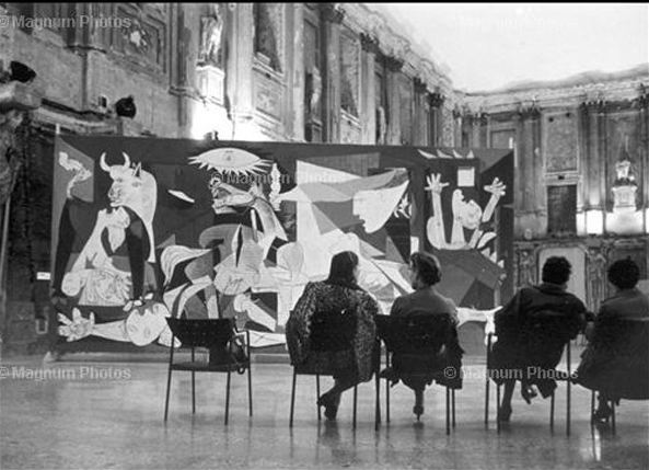 Guernica in Milano (Magnum Photo)