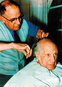 Eugenio Arias: Friend and barber to Picasso, 1960