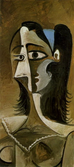 Pablo Picasso. Bust of Woman III, 1960