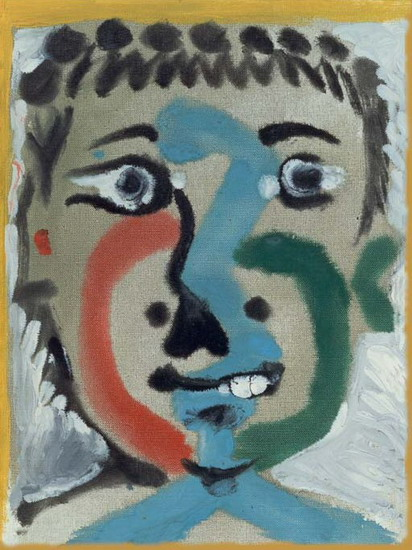 Pablo Picasso. Head boy, 1964