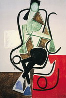 Pablo Picasso. Woman in a rocking chair