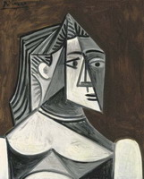 Pablo Picasso. Bust of a Woman II