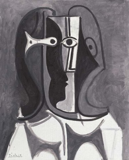 Pablo Picasso. Bust of Woman III, 1962