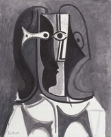 Pablo Picasso. Bust of Woman III