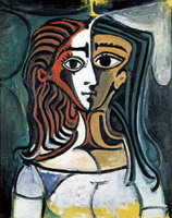 Pablo Picasso. Female bust, 1940