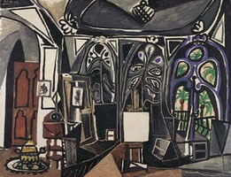 Pablo Picasso. My workshop