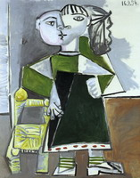 Pablo Picasso. Paloma standing