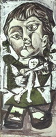 Pablo Picasso. Child with doll