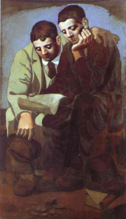 Pablo Picasso. Reading of Letter, 1921