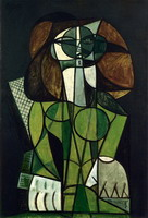 Pablo Picasso. Seated Woman