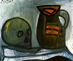 Pablo Picasso. Crane and pitcher