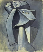 Pablo Picasso. Head to the cap
